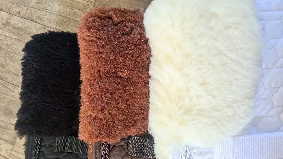 Glamourhorse Wool Lined Saddle Pads -PONY
