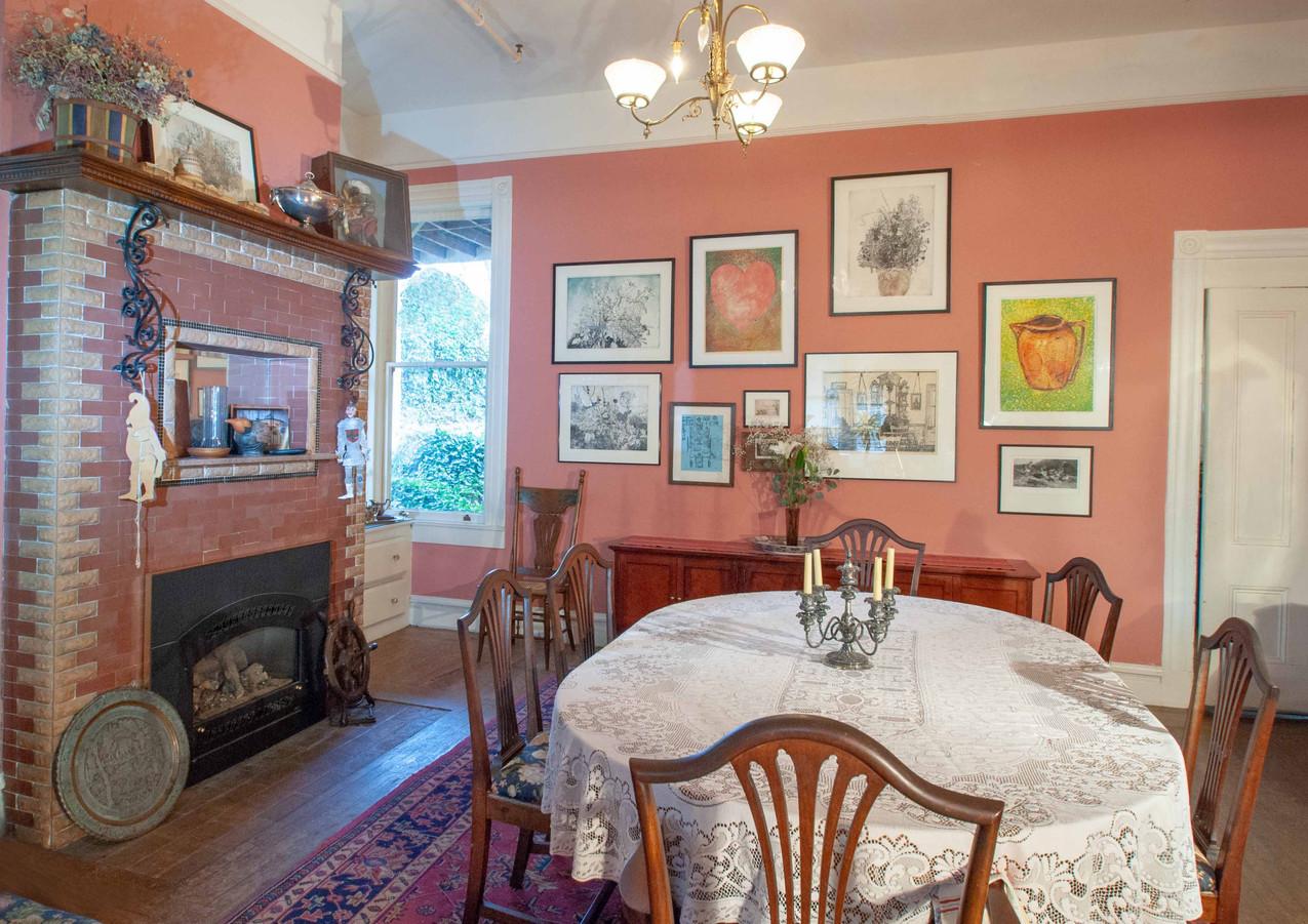 Dining Room- Swan Levine House B&B