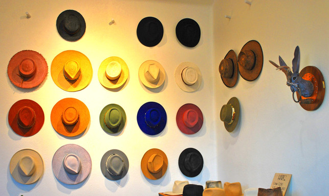 HAND-MADE HATS- MILL & MAIN