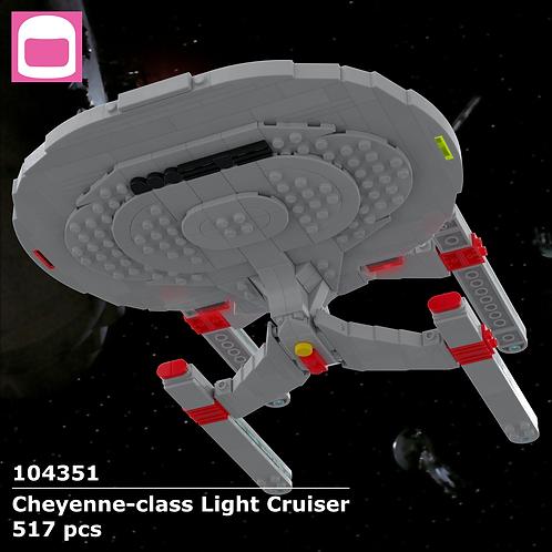 Cheyenne-class Light Cruiser Instructions