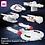 Thumbnail: Federation Fleet #1 Part Kit