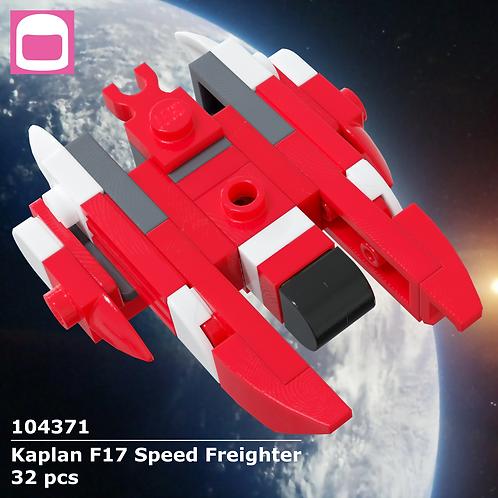 Kaplan F17 Speed Freighter Instructions