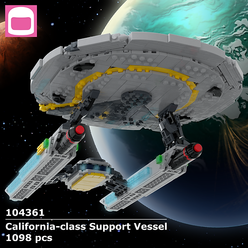 California-class Support Vessel Instructions