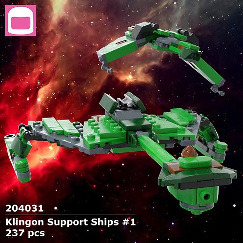Klingon Support Ships #1 Instructions