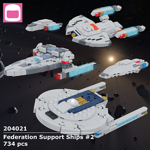 Federation Support Ships #2 Instructions