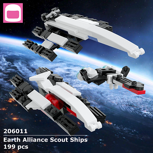 Earth Alliance Scout Ships Instructions