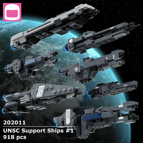 UNSC Support Ships Instructions