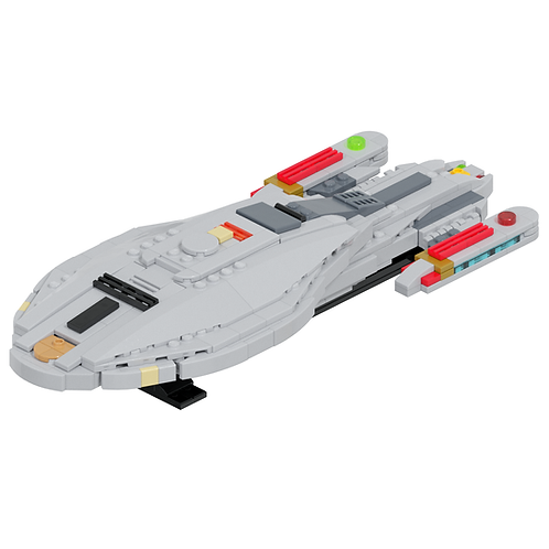 Intrepid-class Long-Range Explorer Part Kit