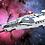 """Thumbnail: """"LL-984-III Galactic Spearhead"""" Art Print"""