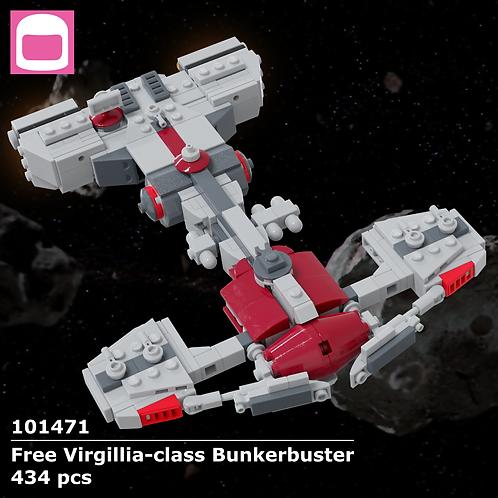 Free Virgillia-class Bunkerbuster Instructions