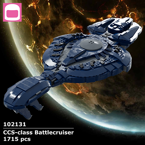 CCS-class Battlecruiser Instructions