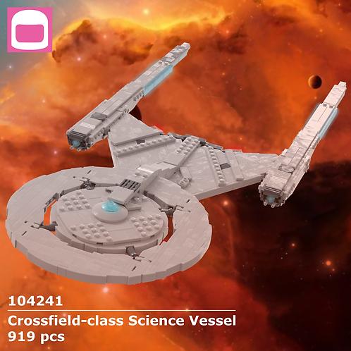 Crossfield-class Science Vessel Instructions