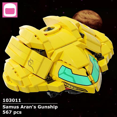 Samus Aran's Gunship Instructions