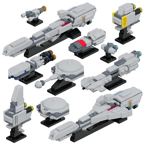 Rebel Support Ships #2 Part Kit