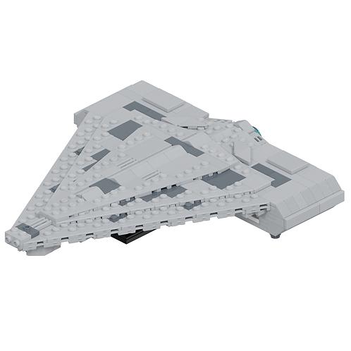 Quasar Fire-class Cruiser-Carrier Part Kit