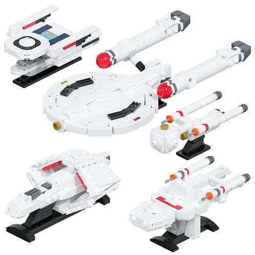 Federation Fleet #1 Part Kit