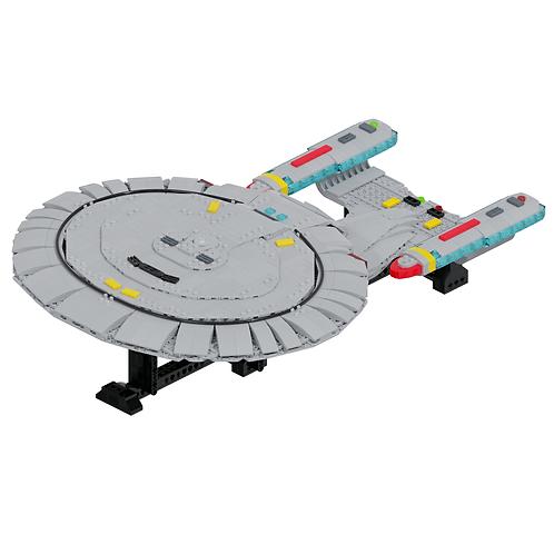 Galaxy-class Explorer Part Kit