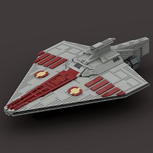 Acclamator-class Assault Ship Instructions