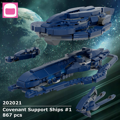 Covenant Support Ships Instructions