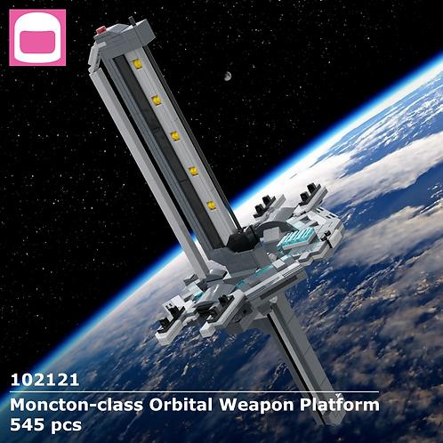 Moncton-class Orbital Weapon Platform Instructions