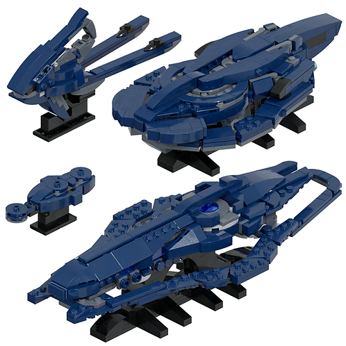 Covenant Support Ships #1 Part Kit