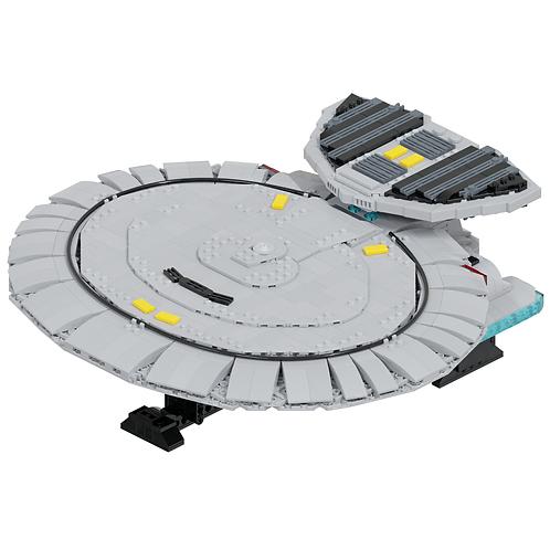 Nebula-class Science Vessel Part Kit