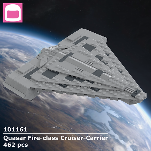 Quasar Fire-class Cruiser-Carrier Instructions