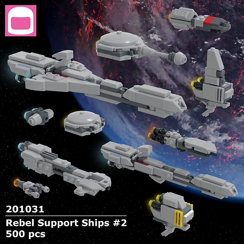 Rebel Support Ships #2 Instructions