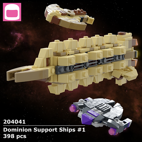 Dominion Support Ships #1 Instructions