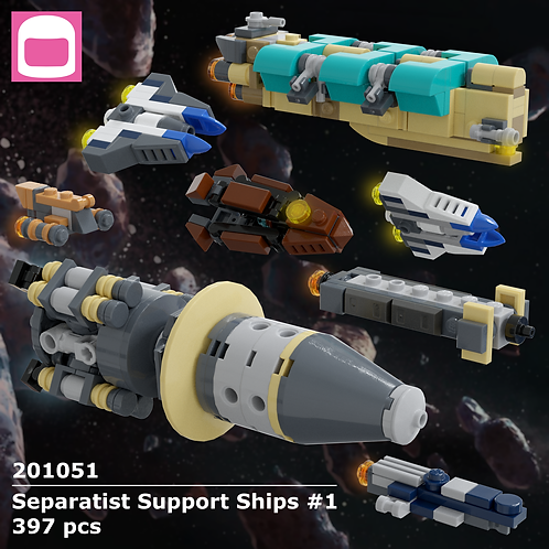 Separatist Support Ships #1 Instructions