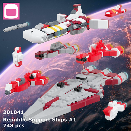Republic Support Ships #1 Instructions