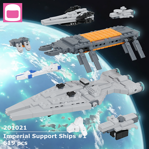 Imperial Support Ships #1 Instructions