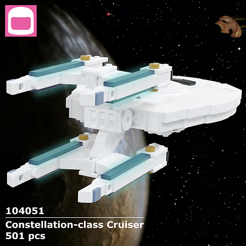 Constellation-class Cruiser Instructions