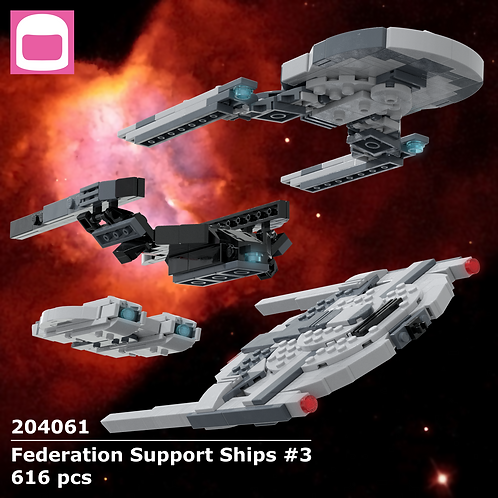Federation Support Ships #3 Instructions
