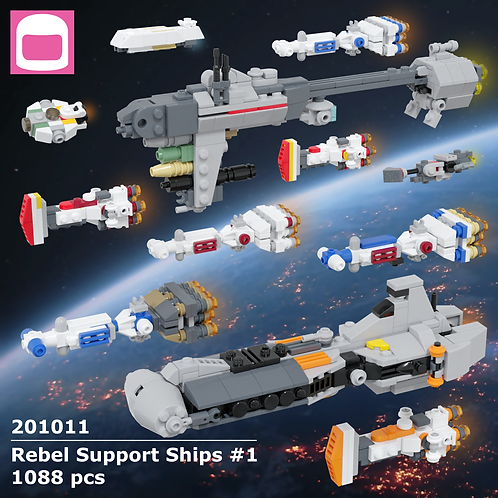 Rebel Support Ships #1 Instructions