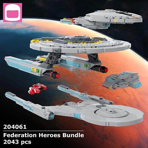 Federation Heroes Instruction Bundle