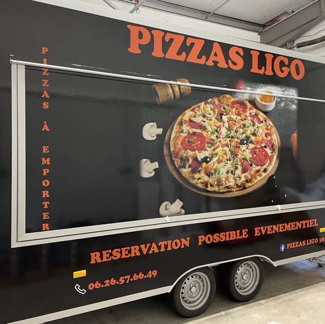 Remorque Pizza