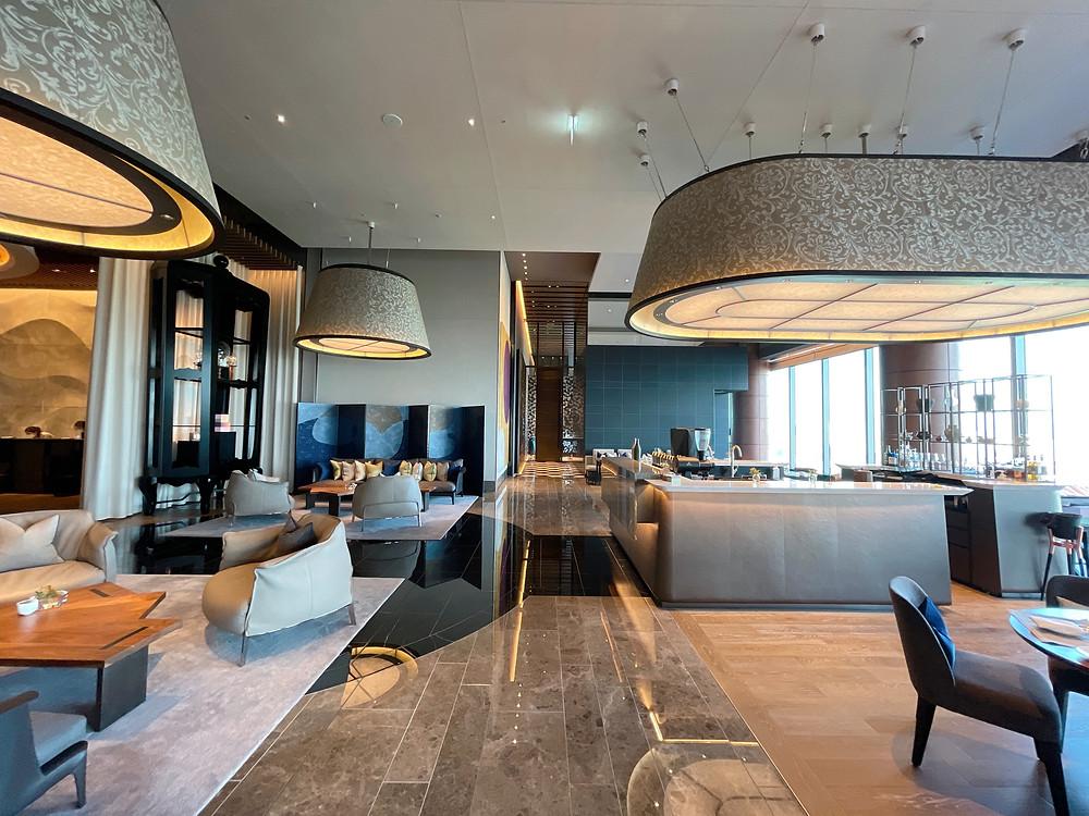 フォーシーズンズホテル東京大手町 朝のthe lobby