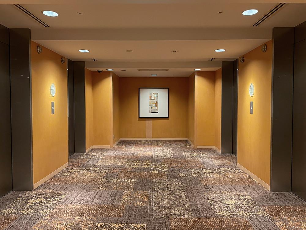 グランドハイアット福岡 エレベーターホール