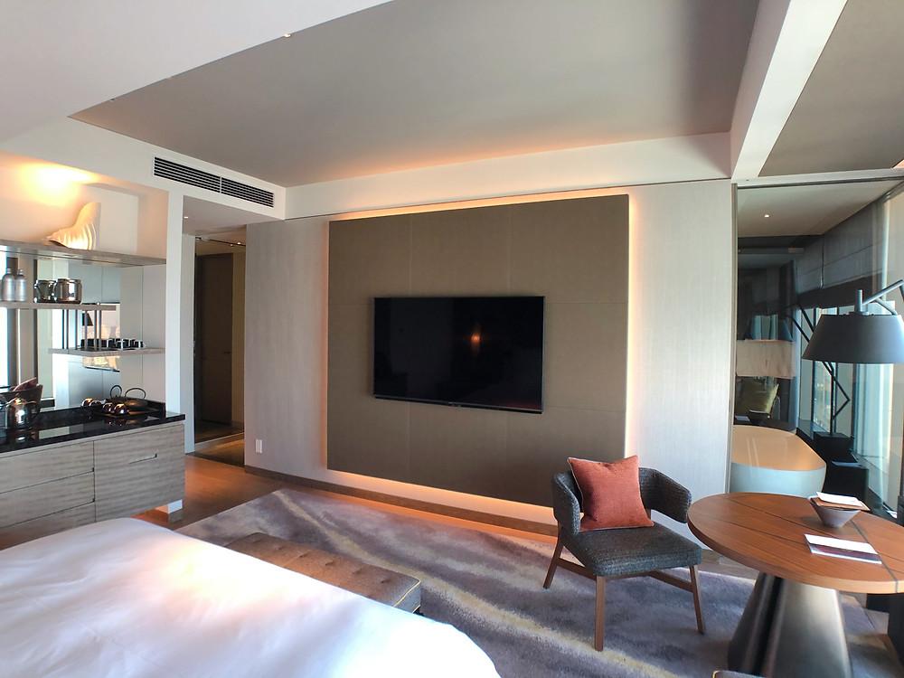 フォーシーズンズホテル東京大手町のデラックスルームの各種設備