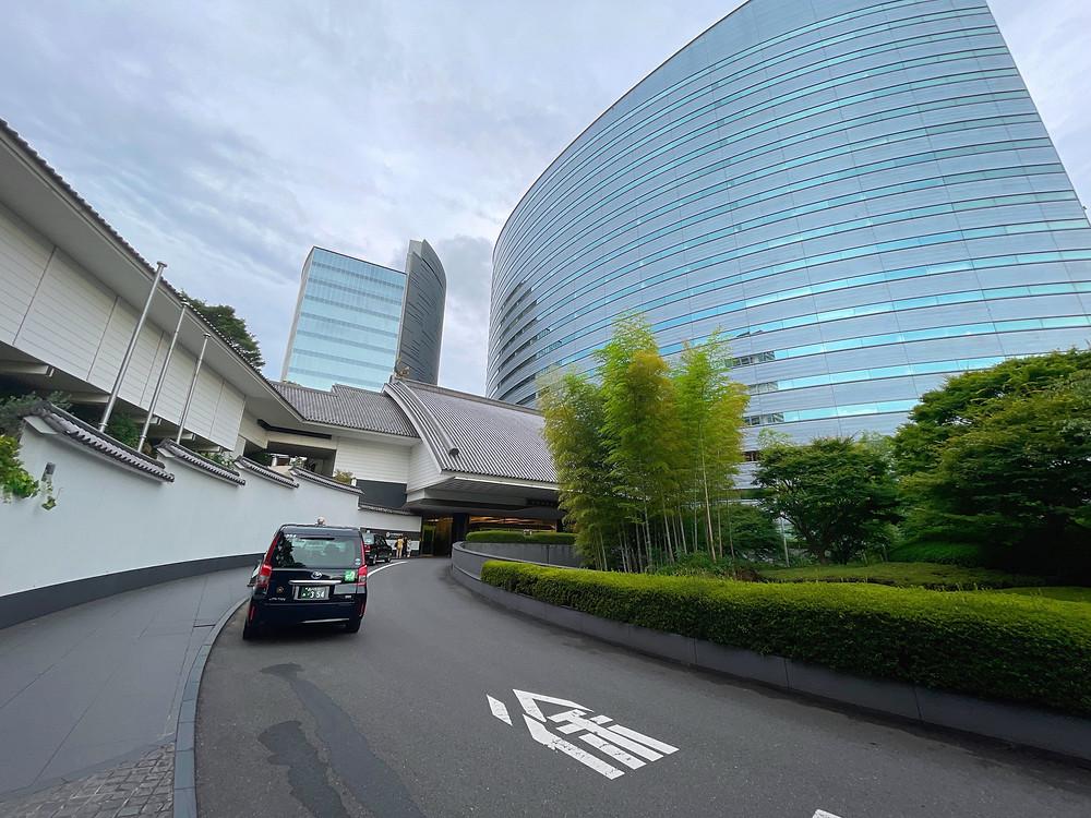 ホテル雅叙園東京 車寄せ