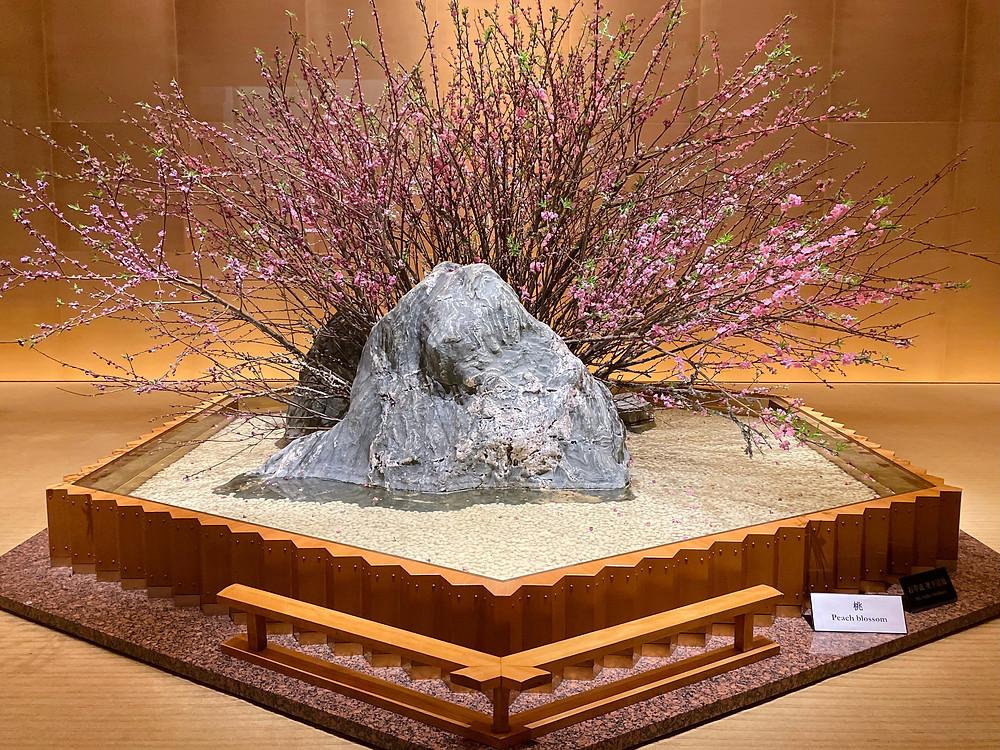 The Okura Tokyoのプレステージタワーの装花