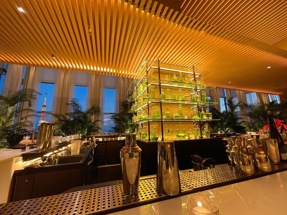 東京エディション虎ノ門のLobby Bar