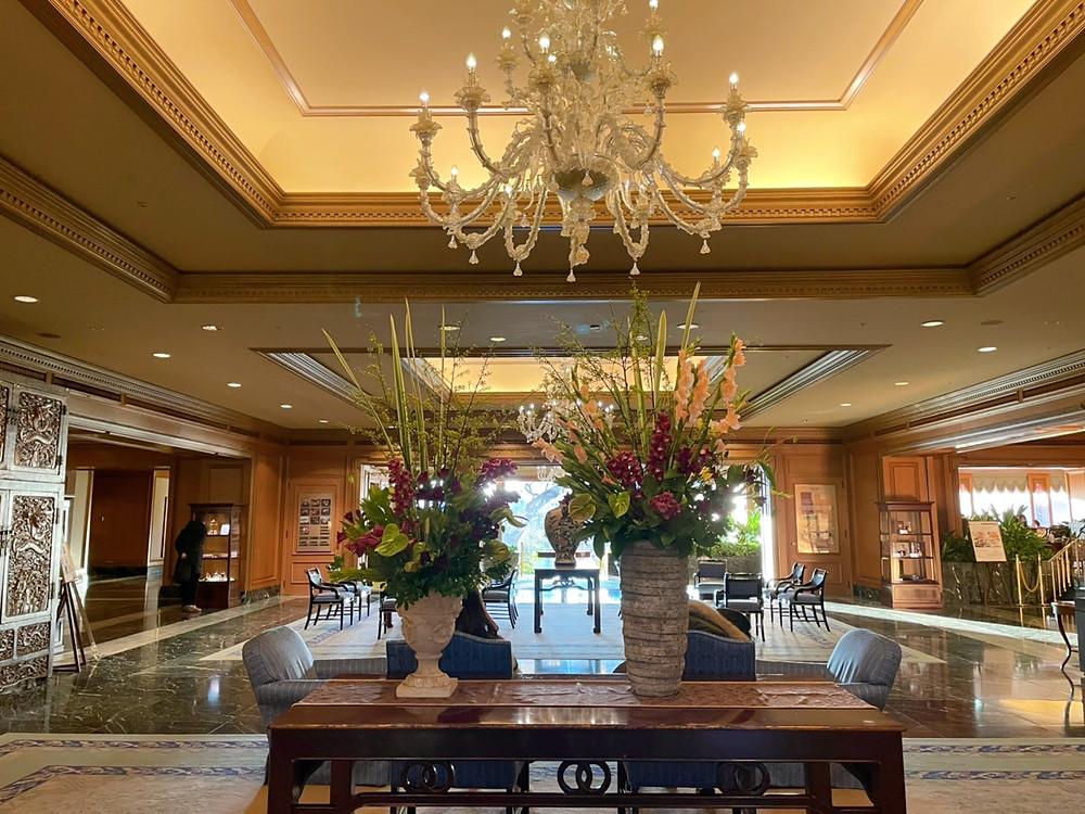 ホテル椿山荘東京の装花