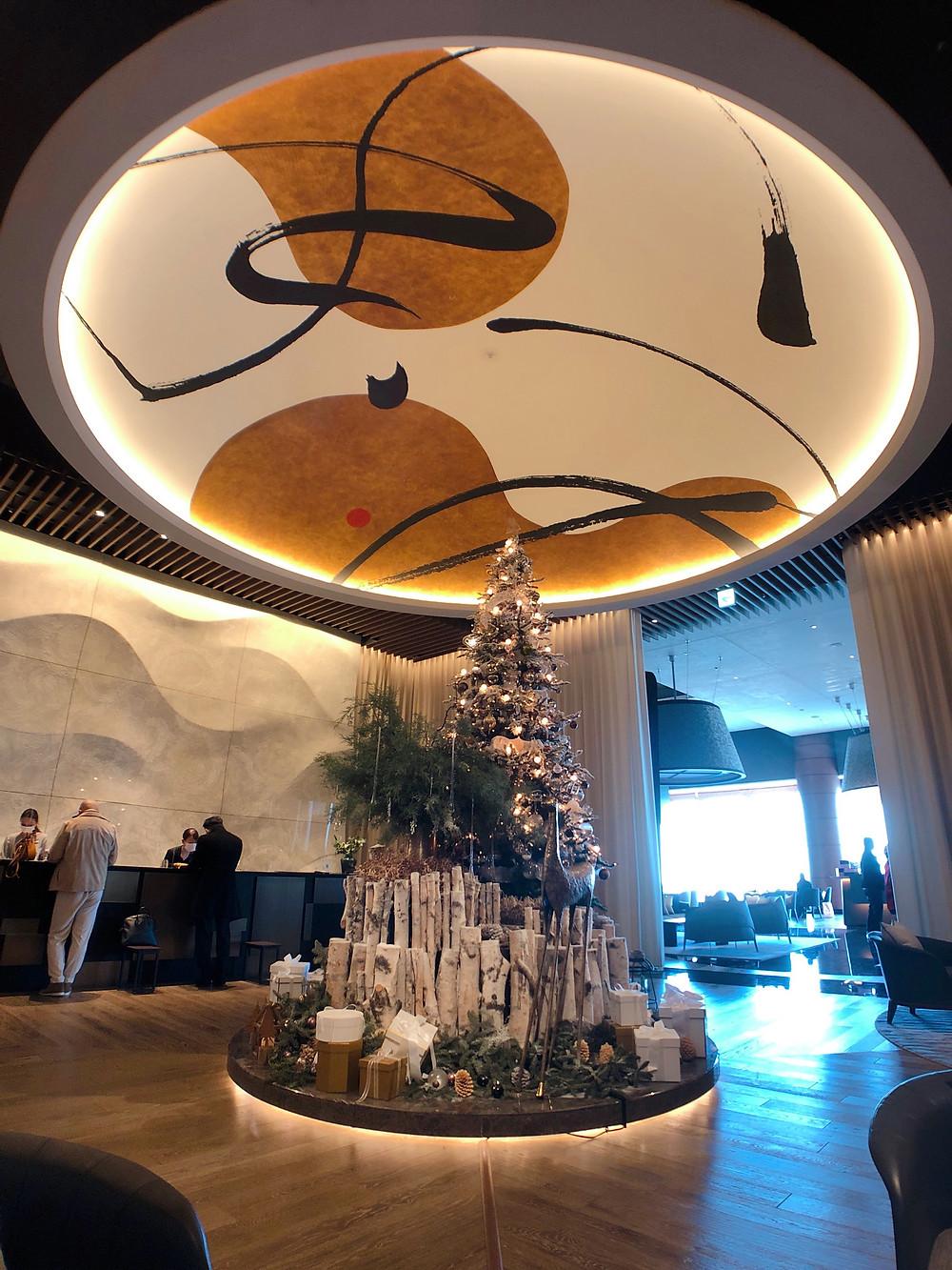 フォーシーズンズホテル東京大手町のフロント