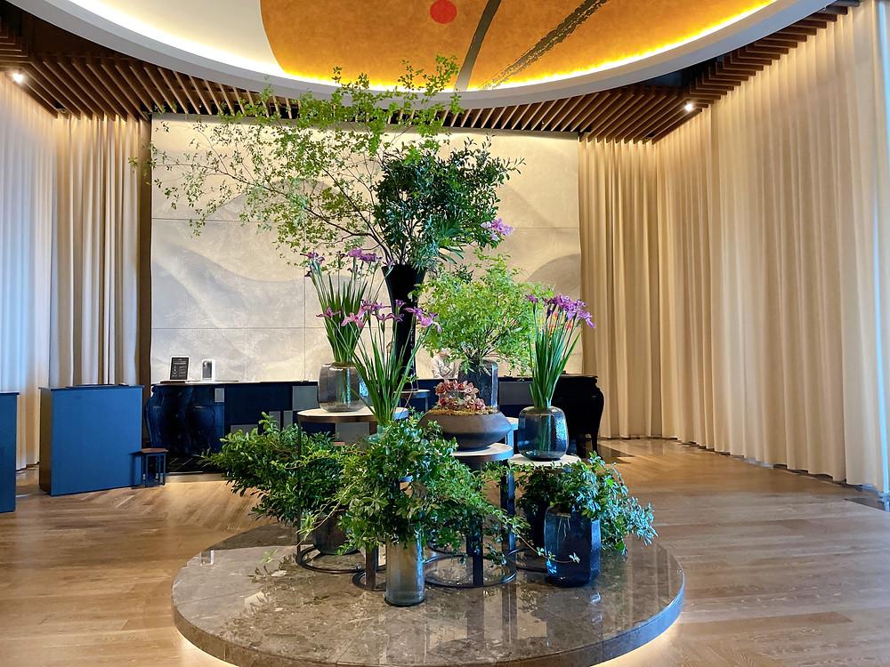 フォーシーズンズホテル東京大手町 5月の装花