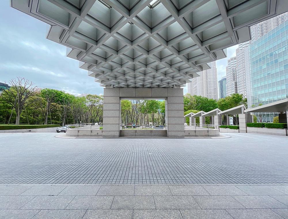パークハイアット東京のエントランス