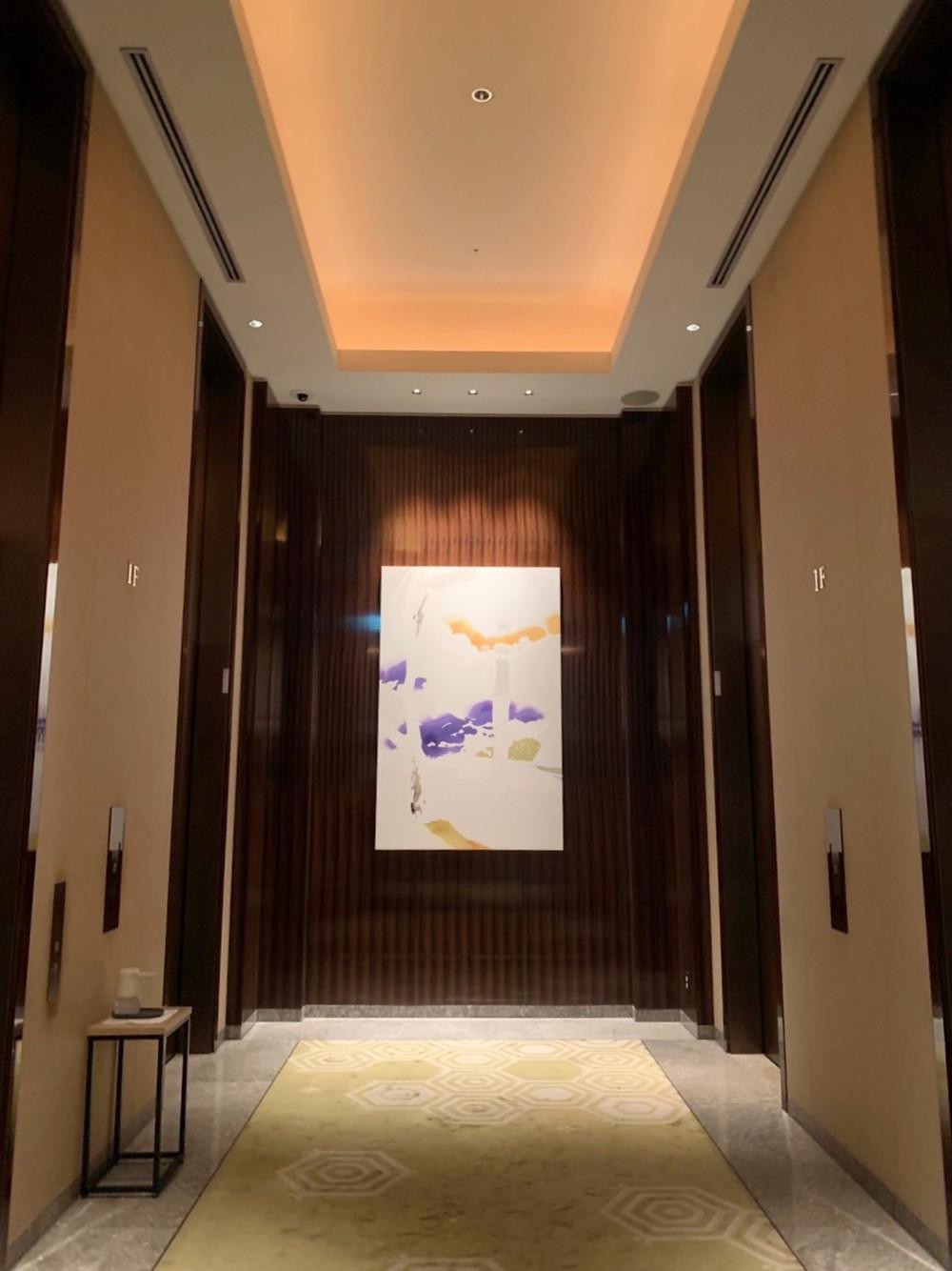 パレスホテル東京のアートの様子