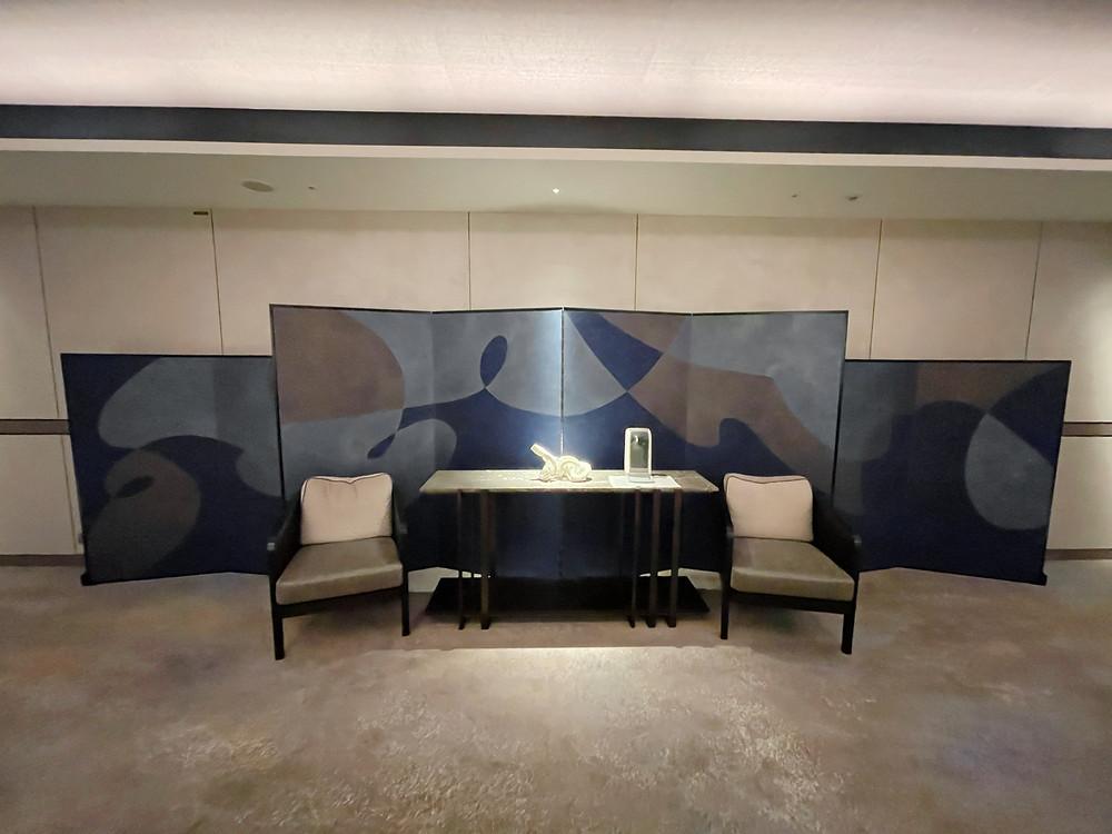 フォーシーズンズホテル東京大手町 屏風風のインテリア