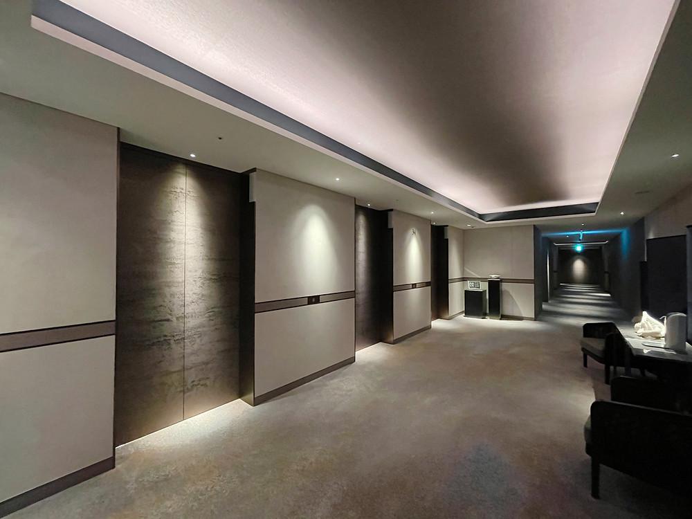 フォーシーズンズホテル東京大手町 客室までの通路